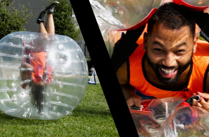 American Funny Bubble Football Game