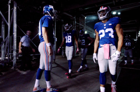 The Great Football Team: 'New York Giants'